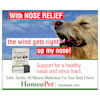 HomeoPet Nose Relief, 0.51 oz. - Thumbnail-4