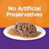 Iams Perfect Portions Grain Free Chicken Recipe Cuts in Gravy Healthy Kitten Wet Food, 2.64 oz. - Thumbnail-6