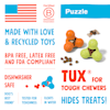 West Paw Tux Treat Assorted Dog Chew Toy, Small - Thumbnail-8