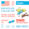 West Paw Qwizl Treat Assorted Dog Chew Toy, Small - Thumbnail-5