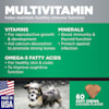 GNC Ultra Multivitamin Chicken Flavor Soft Chews for Dogs, Count of 60 - Thumbnail-5