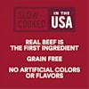 WholeHearted Culinary Cuts Teriyaki Beef Recipe Jerky Dog Treats, 16 oz. - Thumbnail-5