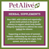 PetAlive Brain Liquid Drops Natural Herbal Supplement for Vitality, Concentration and Alertness for Adult Dogs, 2 fl. oz. - Thumbnail-3