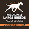 Wholehearted Active Performance High-Protein Chicken & Rice Recipe Dry Dog Food, 45 lbs. - Thumbnail-6
