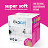 Okocat Super Soft Clumping Wood for Delicate Paws Cat Litter, 16.7 lbs. - Thumbnail-2