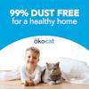 Okocat Original Premium Clumping Wood Cat Litter, 19.8 lbs. - Thumbnail-6