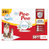 Four Paws Pee-Pee Odor Control Frebreze Freshness Dog Training Pads, Count of 50 - Thumbnail-1