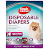 Simple Solution Disposable Female Diapers for XSmall Dogs, Count of 30 - Thumbnail-1