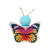 Bond & Co. Started As A Bottle Recycled & Reinvented Pretty Dragonfly Rattle Cat Toy, Small - Thumbnail-2