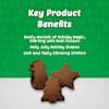 Blue Buffalo Santa Snacks Natural Soft Chicken Dog Treats, 4.5 oz. - Thumbnail-3