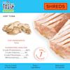 Pet by Tasty Natural Grain Free Freeze Dried Just Tuna Shreds Dog Treats, 0.6 oz. - Thumbnail-3