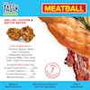 Pet by Tasty Natural Grain Free Grilled Chicken & Bacon Meatball Recipe Dog Treats, 4 oz. - Thumbnail-4