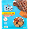 Pet by Tasty Natural Grain Free Braised Beef & Sweet Potato Biscuit Recipe Dog Treats, 8 oz. - Thumbnail-1