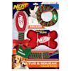 Nerf Holiday Tuff Gift Set Toys for Dogs, Medium - Thumbnail-1
