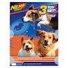 Nerf Flyer Gift Set Toys for Dogs, Medium, Pack of 3 - Thumbnail-2