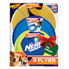 Nerf Flyer Gift Set Toys for Dogs, Medium, Pack of 3 - Thumbnail-1