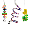 A&E Cage Company Happy Beaks Toy Bundle for Small Birds, Small - Thumbnail-1