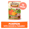 Weruva Pumpkin Patch Up! Pumpkin with Ginger & Turmeric Food Supplement for Dogs and Cats, 2.8 oz., Case of 12 - Thumbnail-3