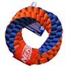 Nerf Nylon Round Braided Double Layered Rope Ring Dog Toy, Medium - Thumbnail-2