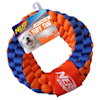 Nerf Nylon Round Braided Double Layered Rope Ring Dog Toy, Medium - Thumbnail-1