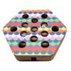 """FurHaven Hexagon Busy Box Cat Scratcher, 3.15"""" H - Thumbnail-1"""
