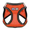 Pawtitas Orange Reflective Dog Harness, XX-Small - Thumbnail-1