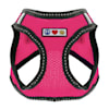 Pawtitas Pink Reflective Dog Harness, XX-Small - Thumbnail-1