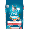 Purina ONE Natural Tender Selects Blend With Real Salmon Dry Cat Food, 16 lbs. - Thumbnail-1