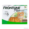 FRONTLINE Plus Flea and Tick Treatment for Cats over 1.5 lbs., 3 Treatments - Thumbnail-1