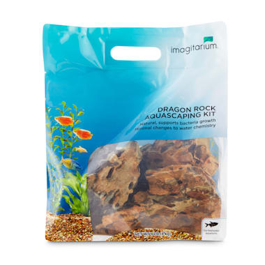 Imagitarium Dragon Rock Aquascaping Kit Large Petco