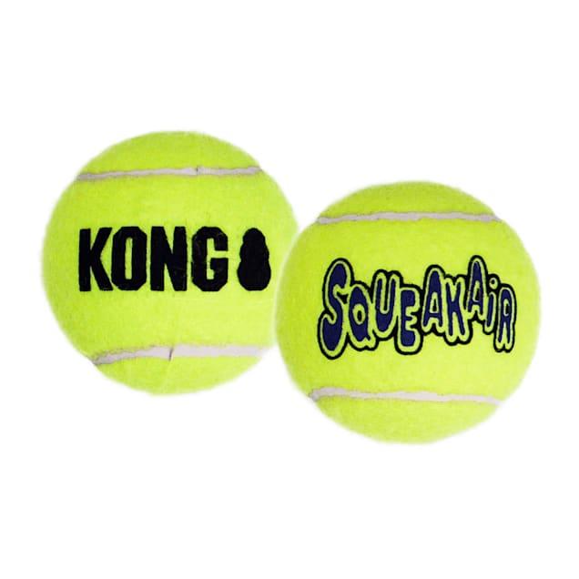 KONG SqueakAir Tennis Balls Pack of 3, X-Small - Carousel image #1