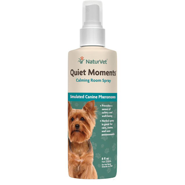 NaturVet Quiet Moments Calming Room Spray for Dogs, 8 fl. oz. - Carousel image #1