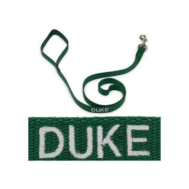 "Coastal Pet 3/4"" Personalized Nylon Leash in Hunter Green - Carousel image #1"