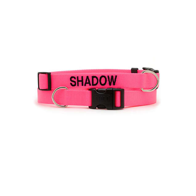 Coastal Pet Adjustable Nylon Tuff Collar in Neon Pink - Carousel image #1