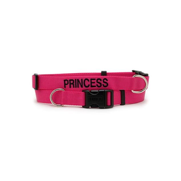 Coastal Pet Adjustable Nylon Tuff Collar in Pink Flamingo - Carousel image #1