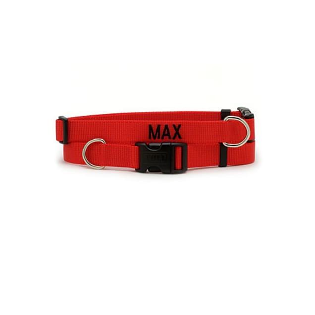 Coastal Pet Adjustable Nylon Tuff Collar in Red - Carousel image #1