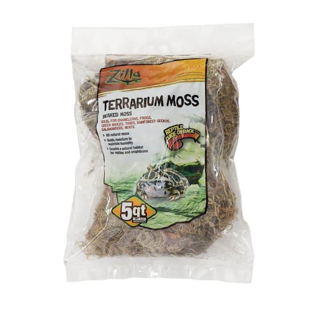 Zilla Beaked Moss Reptile Bedding, 5 quarts - Carousel image #1