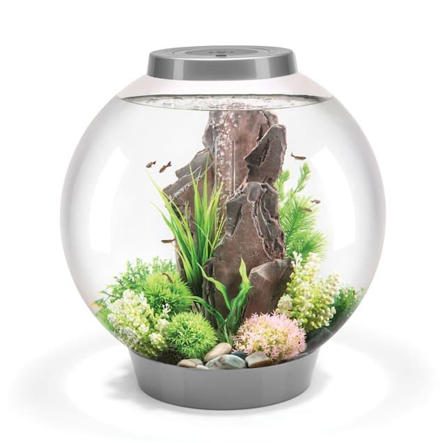 biOrb 16 Gallon Mega Aquarium Kit with Light, Silver - Carousel image #1