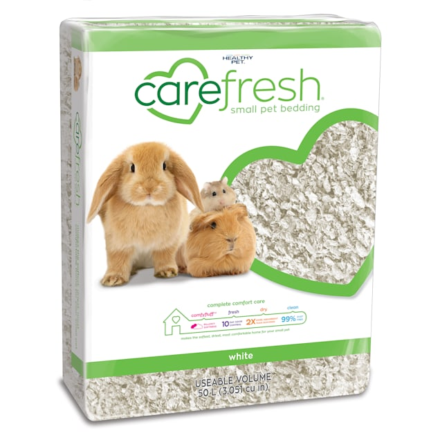 Carefresh White Small Pet Bedding, 50 Liter - Carousel image #1