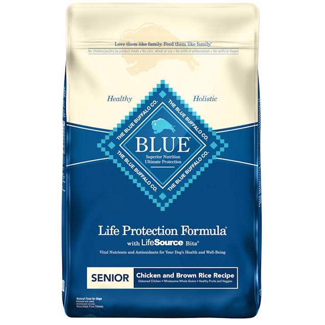 Blue Buffalo Life Protection Formula Natural Senior Chicken and Brown Rice Dry Dog Food, 30 lbs. - Carousel image #1