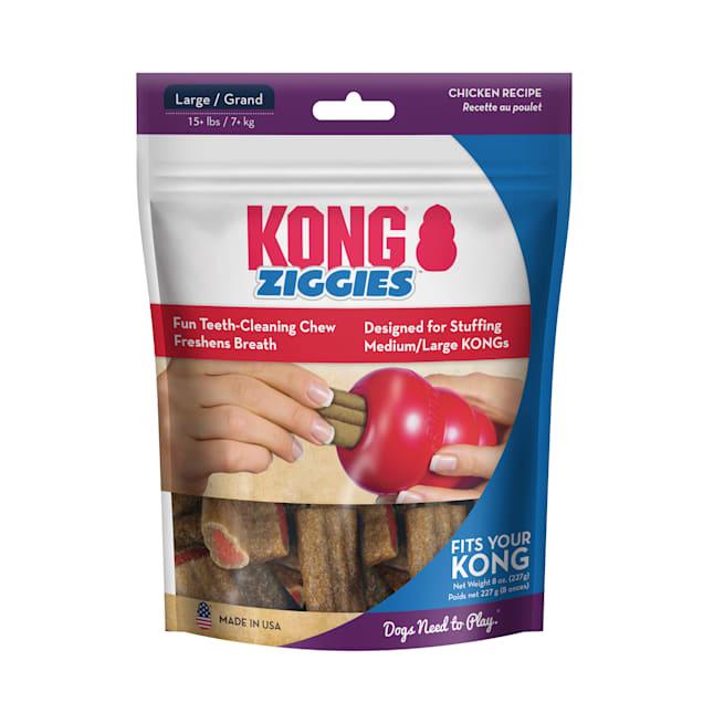 KONG Ziggies Adult Dog Treats, 8 oz. - Carousel image #1