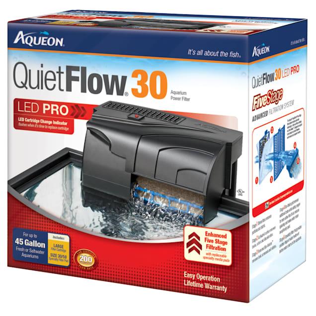Aqueon QuietFlow 30 Aquarium Power Filter - Carousel image #1