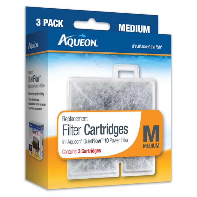 Aqueon Replacement Filter Cartridges, Medium, Pack of 3 - Carousel image #1