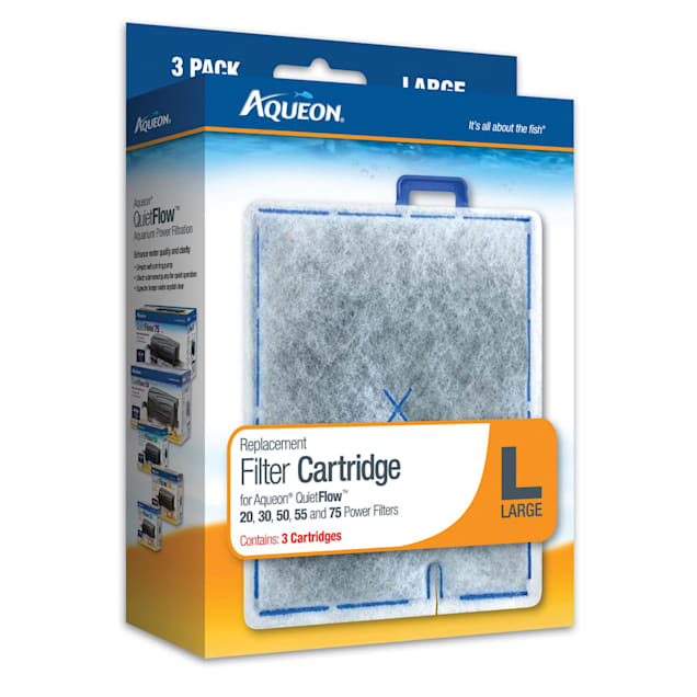 Aqueon Replacement Filter Cartridges, Large, Pack of 3 - Carousel image #1