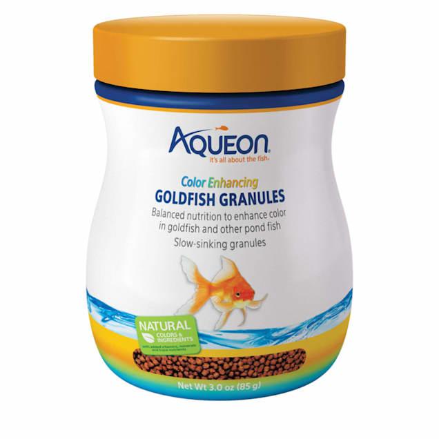 Aqueon Color Enhancing Goldfish Granules, 3 oz. - Carousel image #1