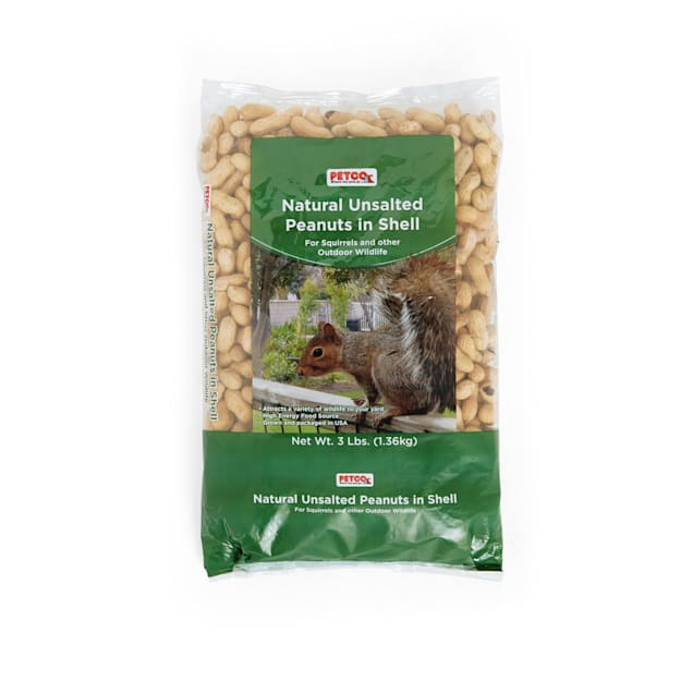 Petco Natural Unsalted Peanuts in Shell Wildlife Food - Carousel image #1