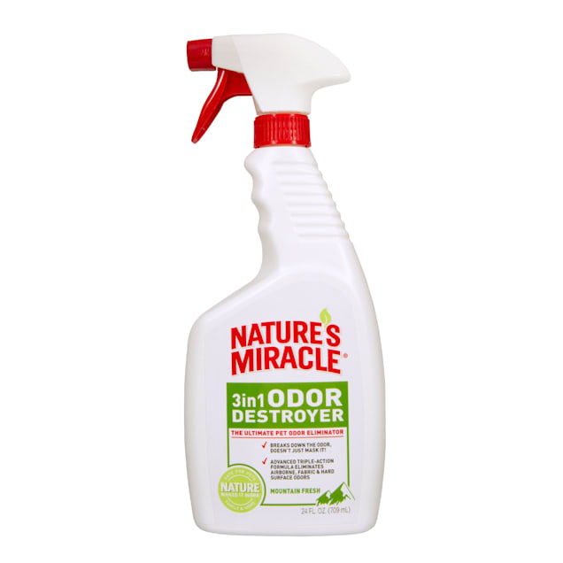 Nature's Miracle Mountain Fresh 3 in 1 Odor Destroyer, 24 fl. oz. - Carousel image #1