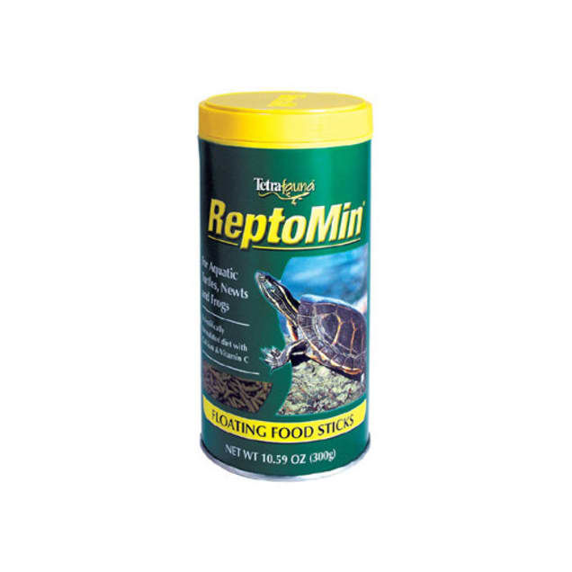 Tetra Reptomin Floating Food Sticks For Aquatic Turtles, Newts and Frogs, 10.59 oz. - Carousel image #1