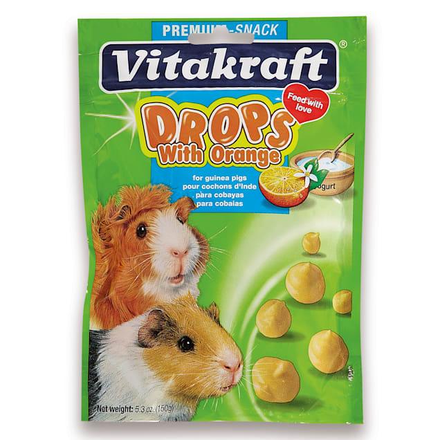Vitakraft Drops with Orange Guinea Pig Treats, 5.3 oz. - Carousel image #1