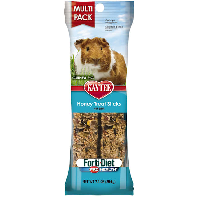 Kaytee Forti-Diet Pro Health Honey Stick Guinea Pig Treat - Carousel image #1